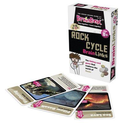 BrainBox Rock Cycle BrainLinks Card Game