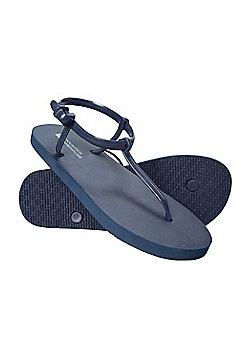 Mountain Warehouse Girls Flip Flops - Blue