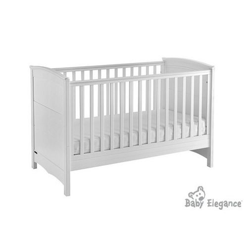 Baby Elegance Elegant Cot Bed - White