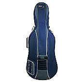 Tom and Will 3/4 Size Padded Cello Bag - Navy & Grey