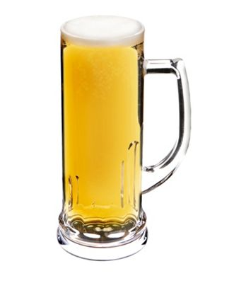 Epicurean Single Acrylic Stein Pilsner Mug, 600ml