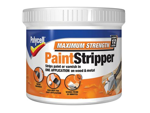 Polycell Maximum Strength Paint Stripper 500ml