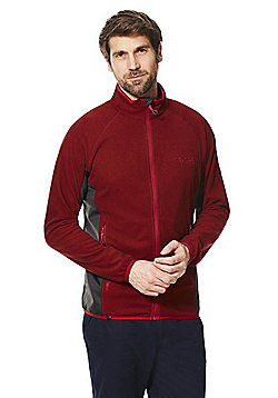 Regatta Mons III Zip-Through Fleece - Red