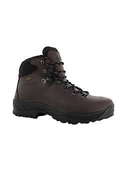 Hi-Tec Mens Ravine Waterproof Hiking Boot - Brown