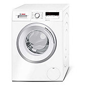 Bosch WAN24100GB Washing Machine, 7kg Load, 1200 RPM, Spin, A+++ Energy rating, White