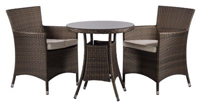 Rattan Garden Furniture Tesco buy savannah 2 seat round dining table and chairs rattan garden