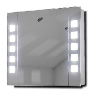 Audio Bathroom Cabinet Mirror With Bluetooth, Shaver Socket & Sensor K16Aud