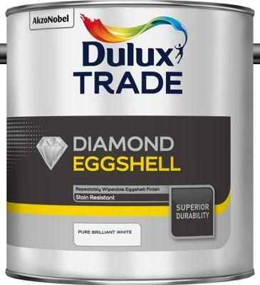 Dulux Trade Diamond Eggshell - PBW - 2.5L