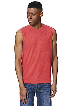 F&F Jersey Tank Vest Top - Red