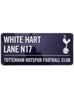 Tottenham Hotspur FC White Hart Lane Street Sign - Blue