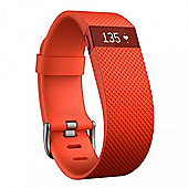 Fitbit Charge HR Tangerine Large - Activity Tracker with Heart Rate Monitor