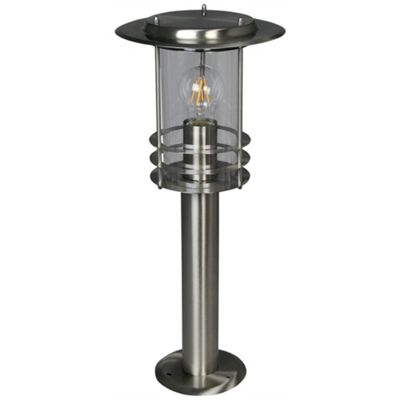 Luxform 230v Phoenix Post Light - Stainless Steel