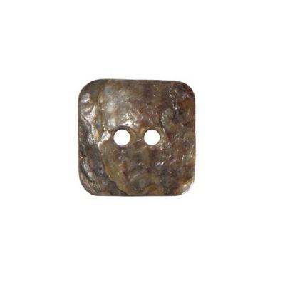 Hemline Square Shell Buttons 11.25mm 7pk