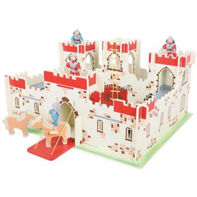 Bigjigs Toys Heritage Playset King Arthur's Castle