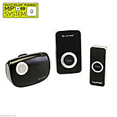 Lloytron B7506BK Melody Plug-in and B/O Wireless Door Chime with MiPs - Black