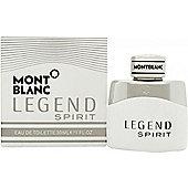 Mont Blanc Legend Spirit Eau de Toilette (EDT) 30ml Spray For Men
