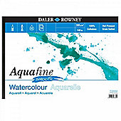 Daler Rowney Aquafine aquarelle artists watercolour SMOOTH pad A4 hot pressed - Art Store