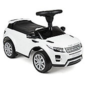 Children's Range Rover Evoque Ride On Car Toy - White