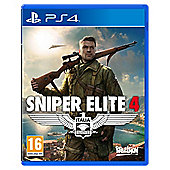 Sniper Elite 4 Standard Edition PS4