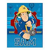 Fireman Sam Fleece Blanket