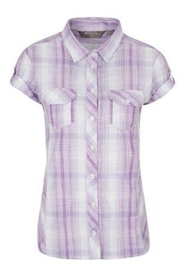 Mountain Warehouse Holiday Womens Cotton Shirt ( Size: 8 )