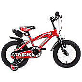 "Hacker Boys 14"" Wheel Mountain Bike Red"