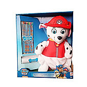 Character Paw Patrol 'Marshall' with Crayons Plush Backpack