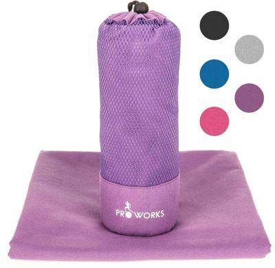 ProWorks Extra Extra Large Purple Microfibre Towel