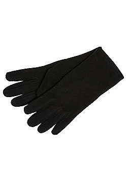 F&F Fleece Gloves - Black