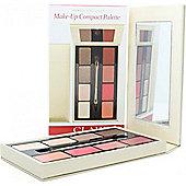 Clarins Make-Up Compact Palette 4 x Eyeshadow + 4 x Lipstick + 1 Applicator