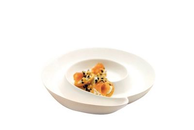 Maxwell & Williams White Basics Spiral Hors D'Oeuvre Dish 30cm