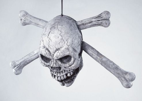 Skull & Crossbone Door Prop
