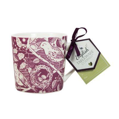 English Tableware Co. Artisan Mug, Blackbird