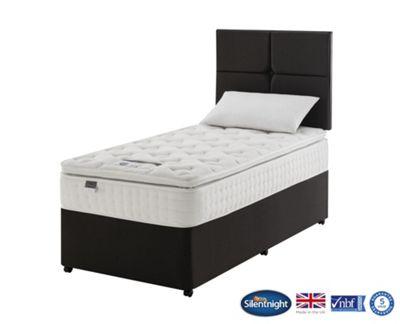 Silentnight Denver Single Divan Bed, Non-Storage, 1400 Pocket Pillow Top