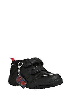 Marvel Spider-Man Riptape School Shoes - Black