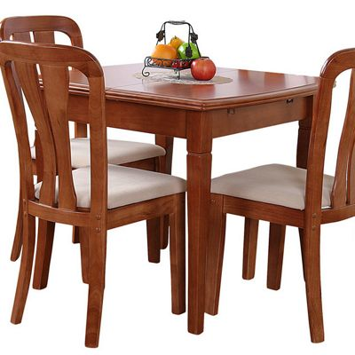 G&P Furniture Lincoln Extending Dining Table - Cherry