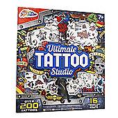 Grafix Ultimate Tattoo Studio 16 Assorted Tattoo Sheets Set