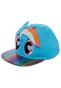Hasbro My Little Pony Rainbow Dash Cap - Blue