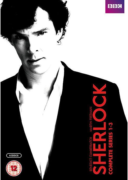 Sherlock Series 1-3 Box Set DVD