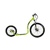 Crussis Cross 6.2 26/20in Wheel Adults Kick Scooter Neon Green