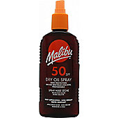 Malibu Sun Dry Oil Spray 200ml SPF50