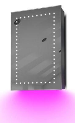 Demist Cabinet With LED Under Lighting, Sensor & Internal Shaver Socket k347p