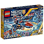 LEGO Nexo Knights Clays Falcon Fighter Blaster 70351