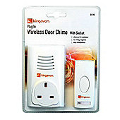 Kingavon Plug in Wireless Door Bell Chime
