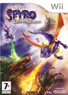 The Legend of Spyro - Dawn of the Dragon - NintendoWii