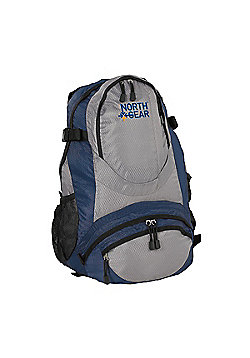 North Gear Camping Bola 30L Rucksack Backpack Blue