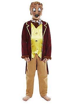 Roald Dahl Fantastic Mr Fox Dress-Up Costume - Multi