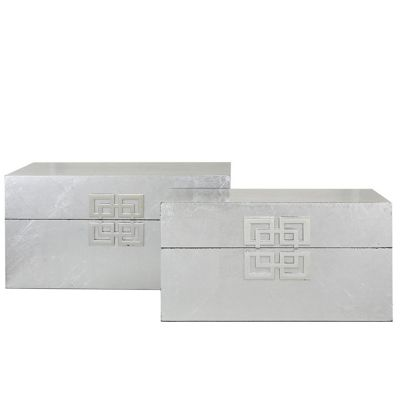 Set Of 2 Geometrical Boxes
