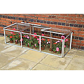 Simplicity Cold frame 2ftx6ft Mini Greenhouse Toughened glass