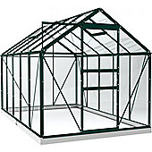 Simplicity Classic Greenhouse 6x10 Green Starter Package With Toughened Glass
